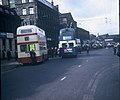 Trolleybuses and a Motorbus in Bradford City Centre - geograph.org.uk - 2687655.jpg