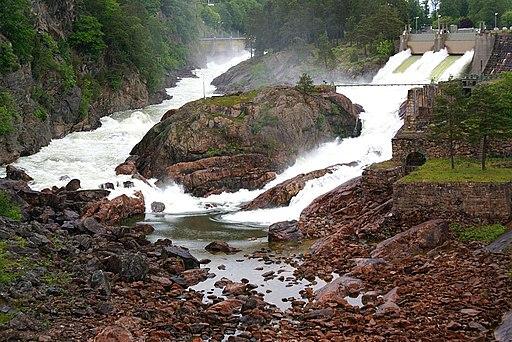 Trollhattan Falls