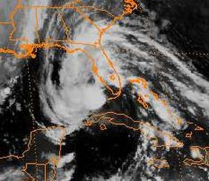 Tropical Storm Marco (1990) - Image: Tropical Storm Marco (1990)