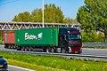 Truck Spotting on the A16 Direction Zwijndrecht 19 04 2019.... Not the Best spot with the Barrier , But better than Nowt . (46728425005).jpg