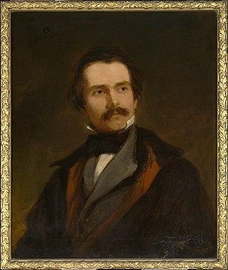 Truman Seymour - Robert Walter Weir, Portrait of Truman Seymour, ca 1852