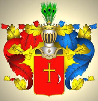 Alexander Tumansky - Coat of arms of the Russian nobility Tumansky