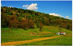 Farm in Tunkhannock Township