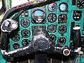 Tupolev Tu-154 B2 cockpit-detail - Malev Hungarian Airlines.JPG