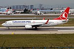 Turkish Airlines, TC-JZF, Boeing 737-8F2 (39244901374) (2).jpg