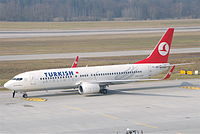TC-JHB - B738 - Turkish Airlines