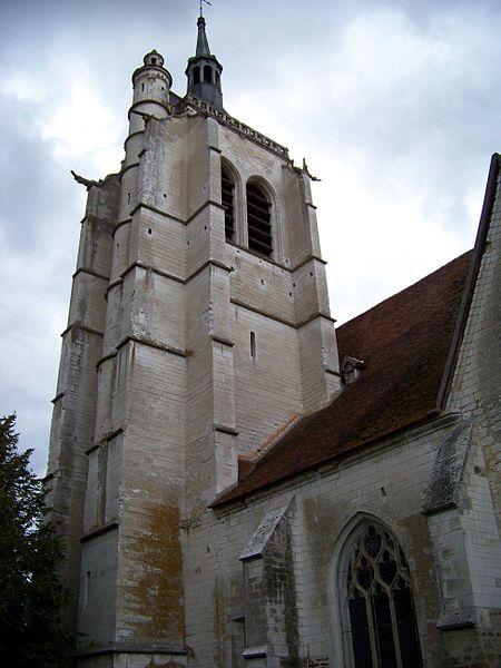 Église de Turny, clocher