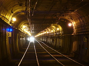 Twin Peaks Tunnel - Twin Peaks Tunnel at Forest Hill Station