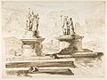 Two sculptures on pedestals MET DP815420.jpg