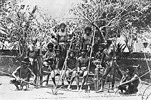 Isa pang larawan ng pangkat ng mga Negrito mula sa aklat ni Alden