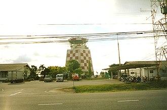 U-Tapao International Airport - Image: U Tapao International Airport ATC Tower