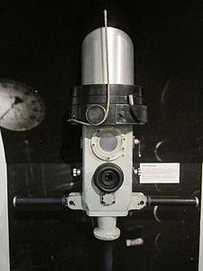 U-boat periscope, Merseyside Maritime Museum.jpg