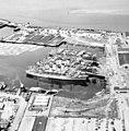 U.S. Military Sea Transport Service tranports laid up at Everett, Washington (USA), on 25 June 1957 (NH 104594).jpg
