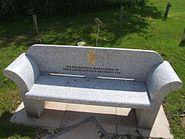UDR Memorial Seat - National Arboretum