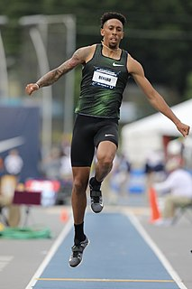 Chris Benard American track and field athlete