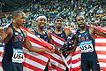 USA 4 x 400 m Doha 2010.jpg