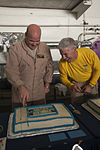 USS Carl Vinson CO, EO celebrate birthdays 141101-N-UW005-063.jpg