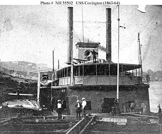 USS Covington (1863) - Image: USS Covington