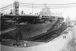 USS Hornet (CV-8) under construction at Newport News Shipbuilding on 3 March 1941 (19-N-26371).jpg