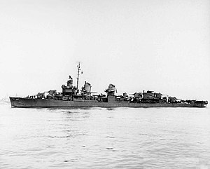 USS Jenkins (DD-447) off Mare Island on 15 Jan 1944