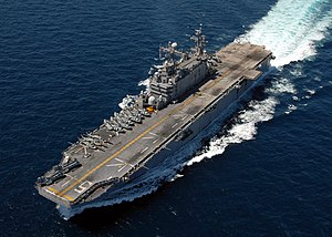 USS Peleliu (LHA 5) in South China Sea 02.jpg