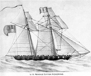 USS Pickering (1798) - Image: USS Pickering 1798
