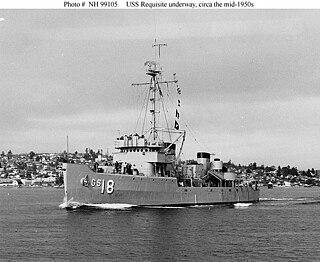 USS <i>Requisite</i> (AM-109)