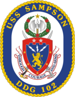 USS Sampson Coat of Arms