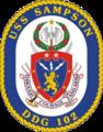 USS Sampson DDG-102 Crest.png