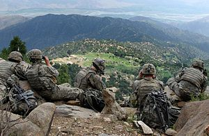 Universal Camouflage Pattern - U.S. Army soldiers in May 2006, wearing the Universal Camouflage Pattern in Kunar province, Afghanistan