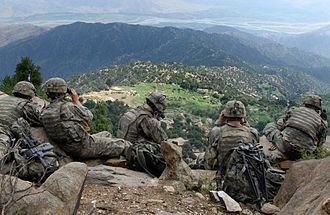 Contemporary history - U.S. Army troops in Kunar province