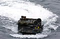 US Navy 050615-N-9866B-024 An amphibious assault vehicle makes its way through the Pacific Ocean to embark aboard the amphibious assault ship USS Peleliu (LHA 5).jpg