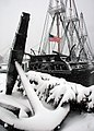 US Navy 080114-N-2893B-002 The first major snowfall of the New Year blankets the USS Constitution. Despite the weather.jpg