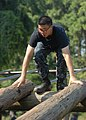 US Navy 100809-N-3857R-001 U.S. Naval Academy midshipmen navigate through the Naval Support Activity Annapolis obstacle course.jpg