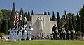 US Navy 110529-N-OM642-228 Ceremonial color guards and French marines present colors during a Memorial Day ceremony.jpg