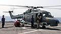US Navy 110922-N-GH121-093 Sailors refuel a German marine Lynx helicopter aboard the amphibious dock landing ship USS Whidbey Island (LSD 41).jpg