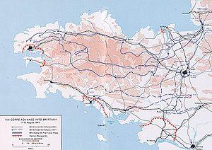 Bunker Atlantikwall Karte.Schlacht Um Die Bretagne Wikipedia