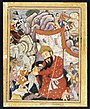 Umurrud Shah Takes Refuge in the Mountains, ca. 1570..jpg