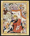 Umurrud Shah Takes Refuge in the Mountains, ca. 1570..jpg