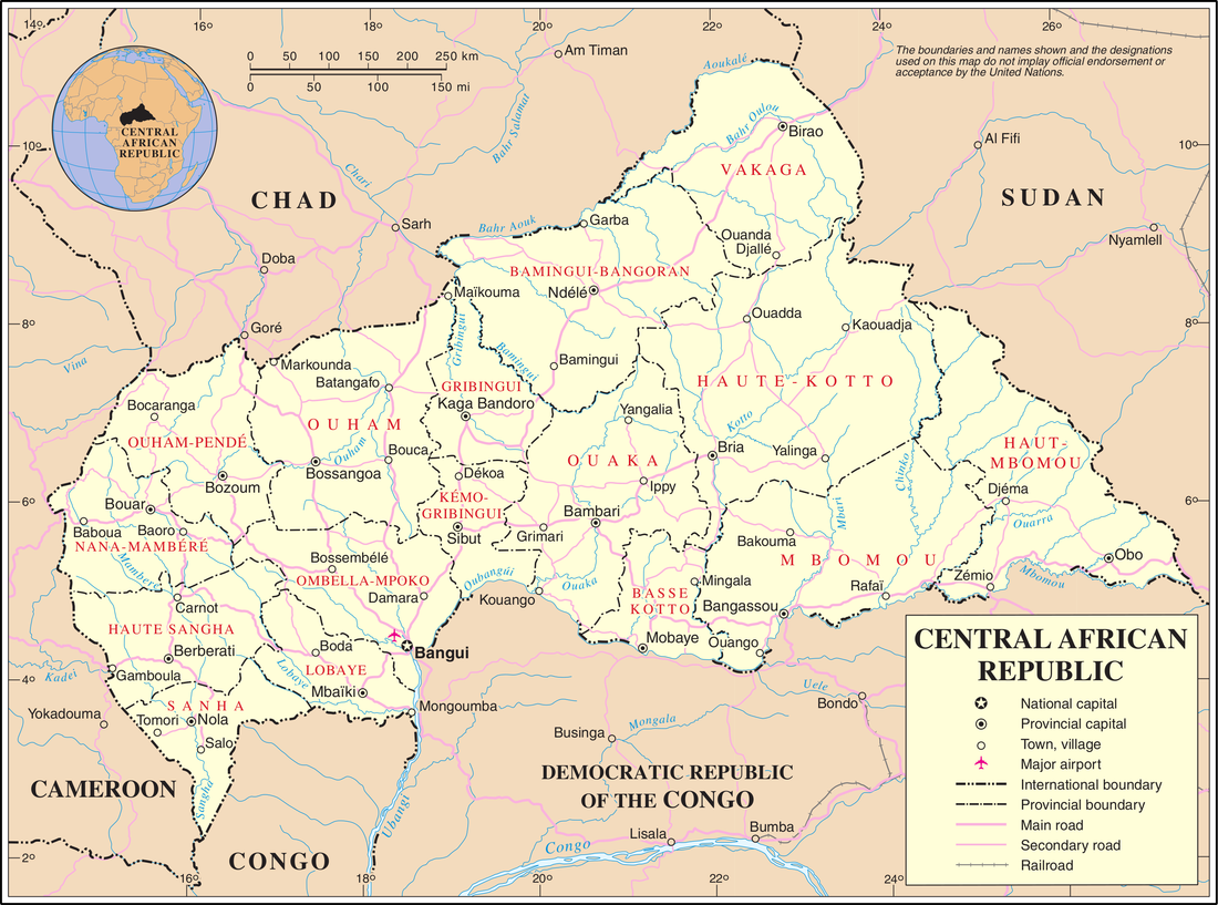 Geography of the Central African Republic Wikiwand