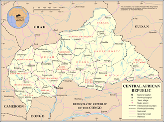 United Nations Security Council Resolution 1125 - The Central African Republic