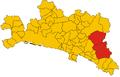 Unione dei comuni montani delle Valli Graveglia e Sturla-mappa.png