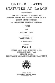 United States Statutes at Large Volume 94 Part 3.djvu