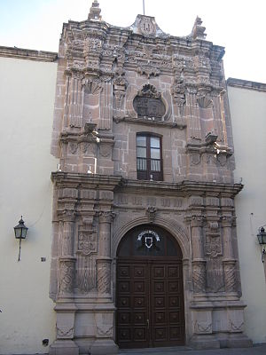 Universidad Juárez del Estado de Durango - Facade of the Central Building of UJED