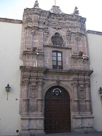 Universidad Juárez del Estado de Durango - Facade of the Central Building of UJED