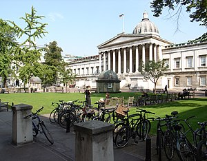 Third-oldest university in England debate - Image: University College London quadrant 11Sept 2006 (1)
