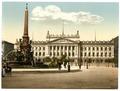 University and Mendebrunnen, Leipsig (i.e., Leipzig), Saxony, Germany-LCCN2002720592.tif