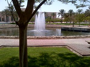 University of Sharjah - Image: University of Sharjah Fountain