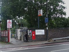 Upper Holloway stn entrance west.JPG