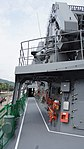 Upper deck right side of JS Fuyuzuki(DD-118) front view at JMSDF Maizuru Naval Base July 29, 2017 01.jpg